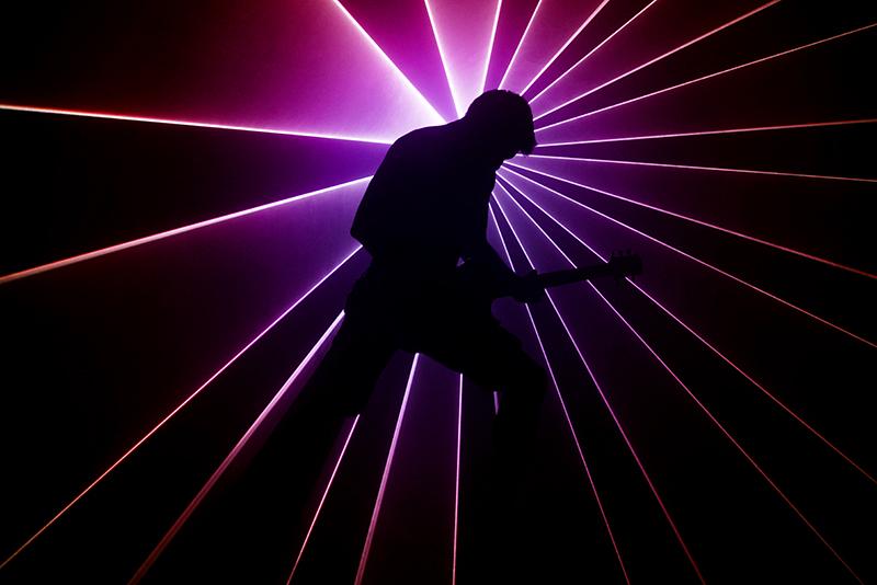 Fotografia reklamowa lasery